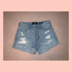 Hollister Co. High Rise Mom Shorts